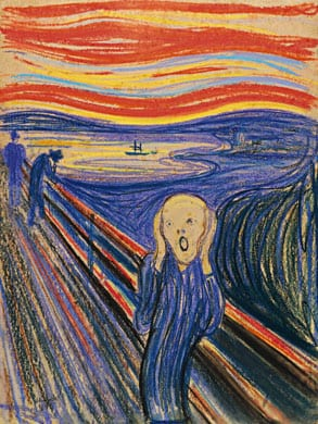 Edard Munch The Scream  (1895) top price