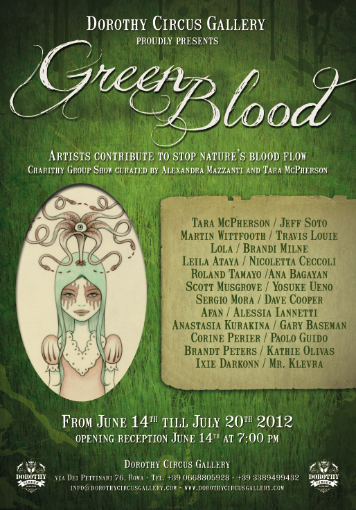 Roma – Green Blood Charity show alla Dorothy Circus Gallery