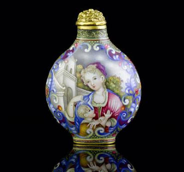 MARY AND GEORGE BLOCH COLLECTION OF CHINESE SNUFF BOTTLES: PART II