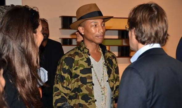 Pharrell Williams e il design anni50