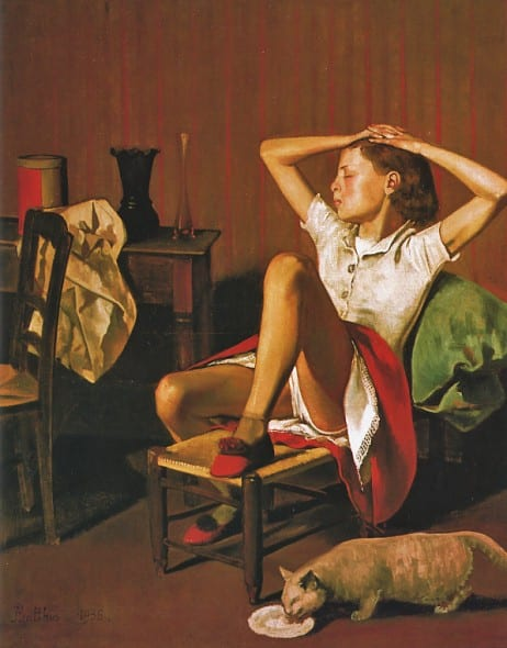 Mostre 2015. Balthus - Therese Dreaming, 1938