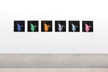 Warhol Six Self Portraits Sothebys