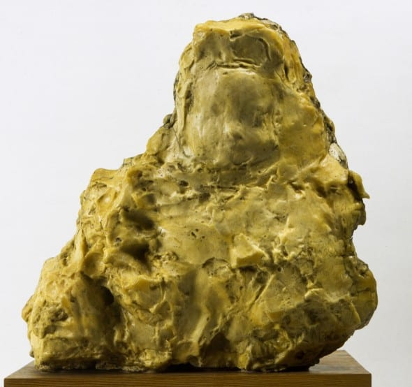 Medardo Rosso, Enfant à la Bouchée de pain (Child in the soup kitchen), 1897 (1892- 1893), wax over plaster , 46 x 49 x 37 cm. Galleria Nazionale d'Arte Moderna e Contemporanea, Rome.