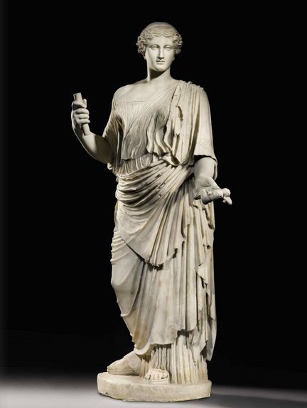 Sold by order of The 12th Duke of Northumberland and the Trustees of the Northumberland Estates A Marble Figure of Aphrodite, Roman Imperial, circa early 1st Century A.D. Estimate: 4,000,000–6,000,000 GBP