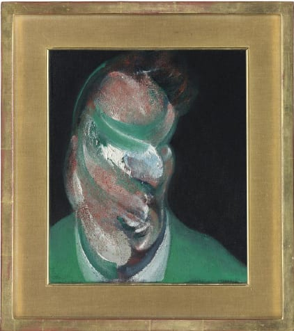 Francis Bacon Study for Head of Lucian Freud, 1967 Oil on canvas 14 x 12in. (35.5 x 30.5cm.) Estimate: £8,000,000 - 12,000,000