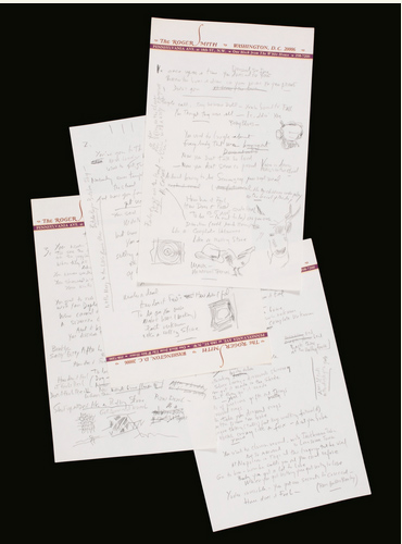 "BOB DYLAN ORIGINAL WORKING AUTOGRAPH MANUSCRIPT OF ""LIKE A ROLLING STONE""  - THE FINAL DRAFT LYRICS AS RECORDED"