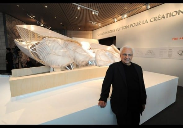 Louis Vuitton Foundation for Creation, Frank O' Gehry
