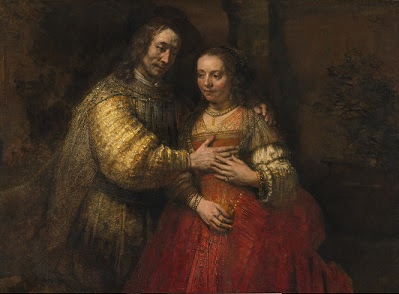 Rembrandt The Jewish Bride, about 1665 National Gallery