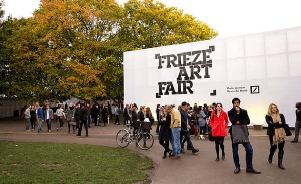 Frieze Art Fair Christie's London