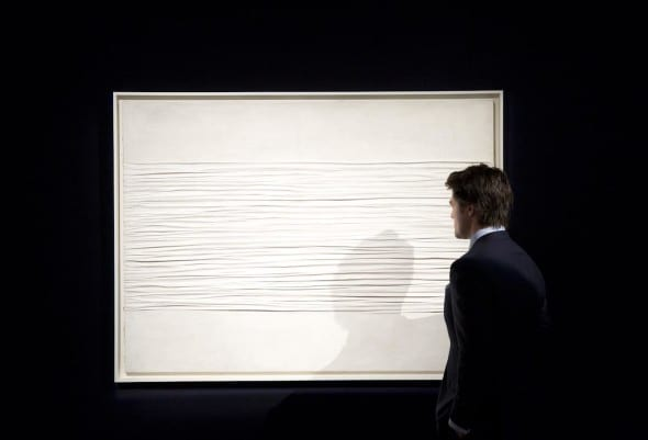 Lot 12PIERO MANZONI ACHROME Estimate 5,000,000 — 7,000,000 GBP Estimate (8,292,000 — 11,608,800 USD) Prize Realized: £12,626,500