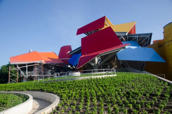 Panama biomuseo by Frank Gehry