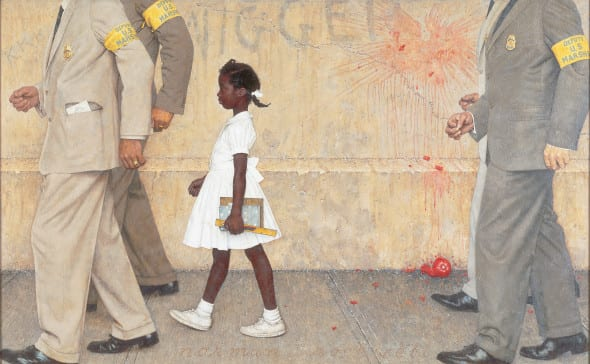 Norman-Rockwell -The Problem We All Live With