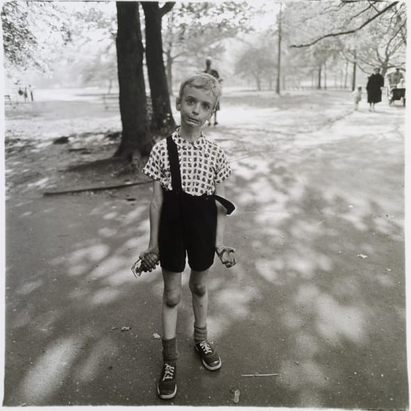Arbus - Child with a Toy Hand Grenade in Central Park, N.Y.C