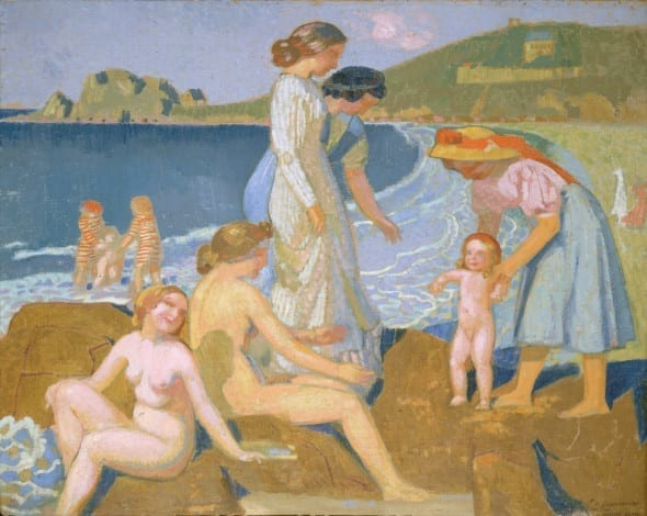 Mostre 2015. Maurice Denis - Female bathers at Perros-Guirec, 1912