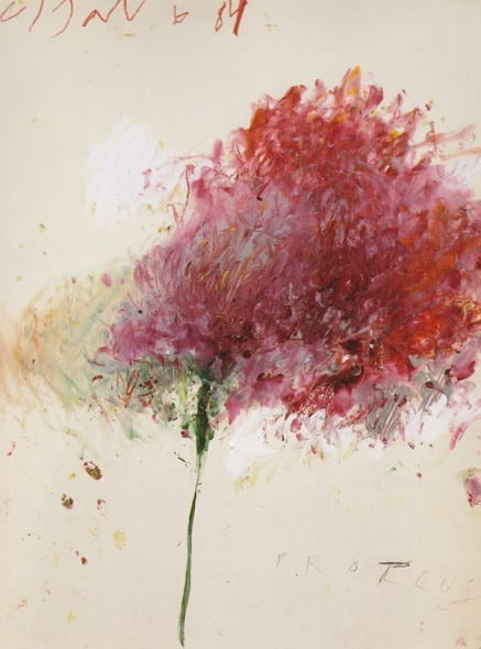Cy Twombly Proteus, 1984c
