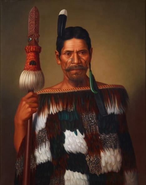 Gottfried Lindauer Mr Paramena, ca. 1885 85 x 67.5 cm, oil on canvas Museum of New Zealand Te Papa Tongarewa, purchased 1995 with New Zealand Lottery Grants Board funds