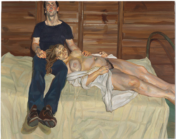 Lucian Freud  Julie and Martin