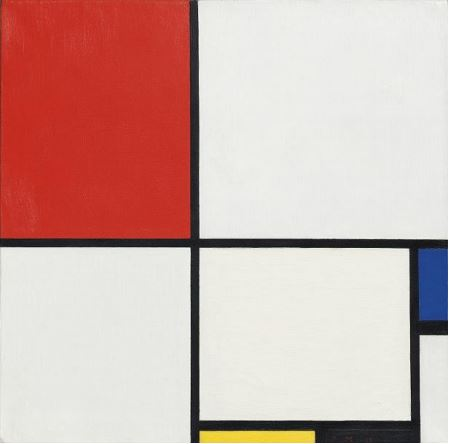 Piet Mondrian (1872-1944), Composition No. III (Composition with Red, Blue, Yellow and Black), oil on canvas, 1929 (estimate: $15-25 million)