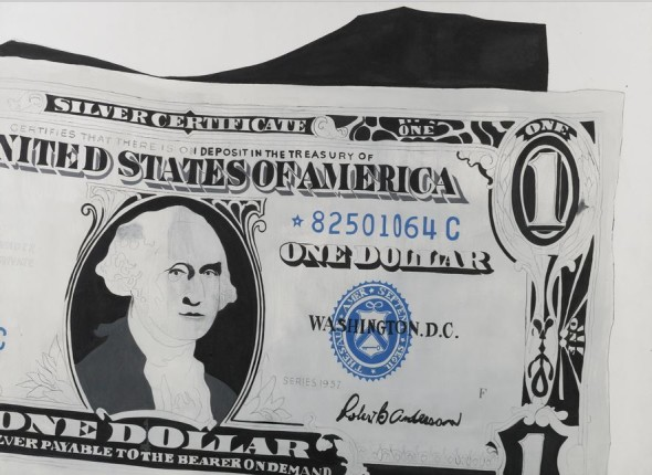 Lot 24 TO THE BEARER ON DEMAND: AN IMPORTANT PRIVATE EUROPEAN COLLECTION Andy Warhol ONE DOLLAR BILL (SILVER CERTIFICATE)  Estimate   13,000,000 — 18,000,000  GBP Price Realized: £