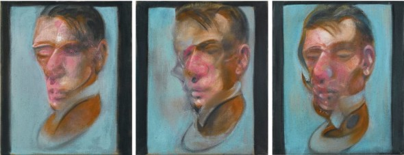 ArtsLife, FIGURE AND FORM: WORKS FROM AN IMPORTANT PRIVATE COLLECTION Francis Bacon THREE STUDIES FOR SELF-PORTRAIT Estimate   10,000,000 — 15,000,000  GBP