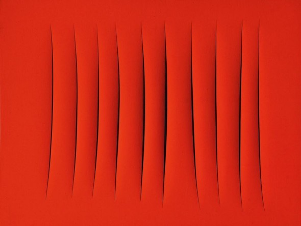 ArtsLife, PROPERTY FROM AN ITALIAN COLLECTION Lucio Fontana CONCETTO SPAZIALE, ATTESE Estimate   4,000,000 — 5,000,000  GBP