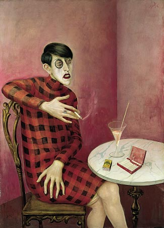 Otto Dix's Portrait of the Journalist Sylvia von Harden (1926)