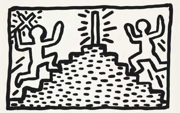 Keith Haring's Untitled