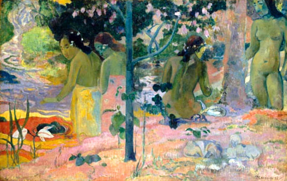 """P. G., (1848-1903), """"The Bathers,"""" 1897"""