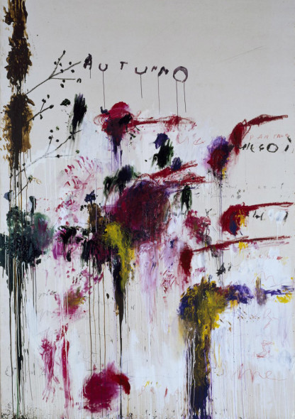 Cy Twombly - Quattro Stagioni, Autunno, 1993-1995