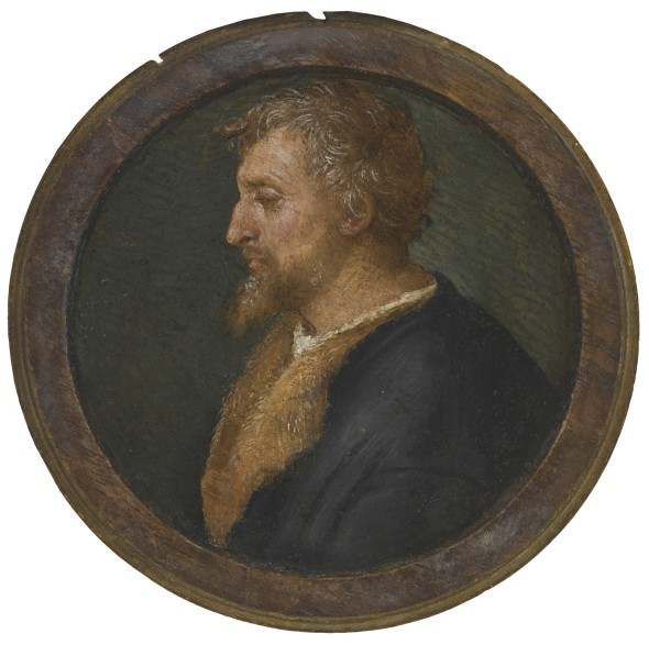 Raffaello Sanzio, called Raphael Profile Portrait of Valerio Belli, Bust Length, Facing Left Sold for $3.3 Million / £2.3 Million