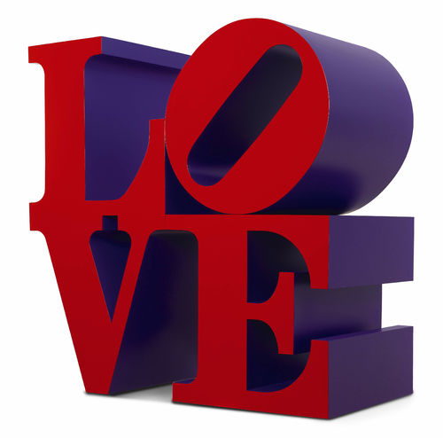 Robert Indiana, Love,Red and Violet, 1966-1999