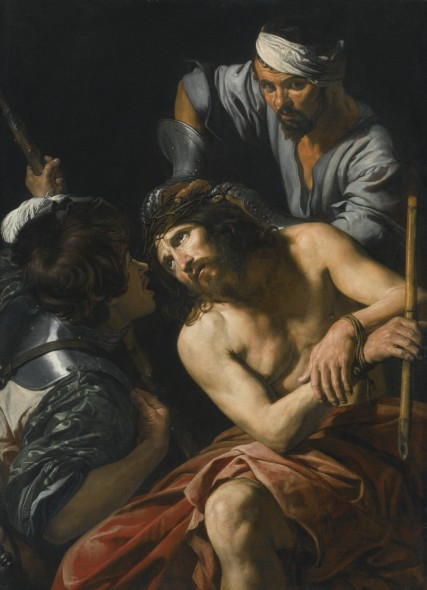 Valentin de Boulogne The Crowning with Thorns Sold for $5.2 Million / £3.6 Million WORLD AUCTION RECORD FOR THE ARTIST