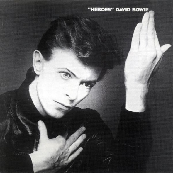 David Bowie, Heroes album cover from graphic artist Masayoshi Sukita. Photo: RCA.