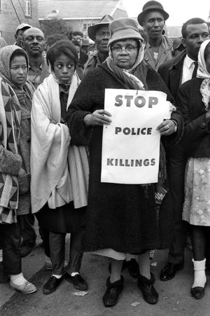 "Steve Schapiro: ""Stop Police Killings,"" Selma March, 1965"