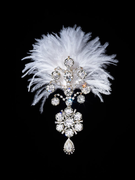 Diamond turban jewel, Victoria and Albert Museum
