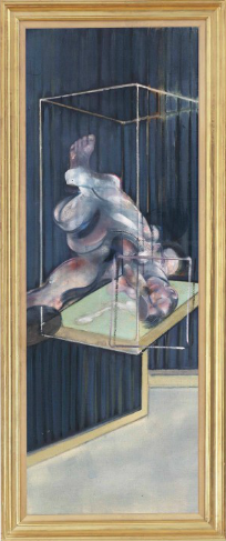 Francis Bacon (1909-1992) Two Figures oil on canvas 78 x 27¾in. (198 x 70.3cm.) Painted in 1975 Estimate (Set Currency) £5,000,000 – £7,000,000 ($7,255,000 - $10,157,000)