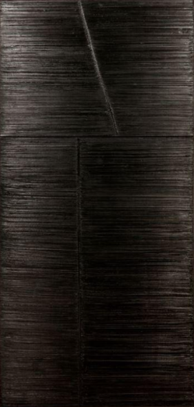 Pierre Soulages Peinture 246 x 117 cm, 5 June 1984 Oil on canvas (diptych) Estimate: 200 000 – 400 000 € / 220 000 – 435 000 $