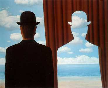 R. Magritte, Decalcomania, 1966
