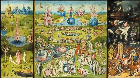 hieronymus-bosch-the-garden-of-earthly-delights-the-creation-of-eve-left-wing-the-garden-of-earthly-delights-central-panel-hell-right-wing-1505-10