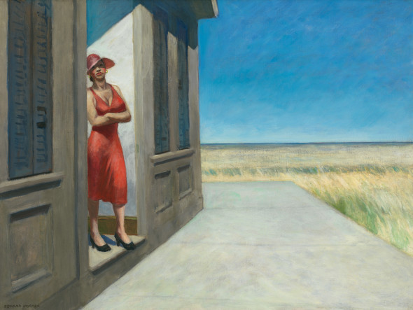 Edward Hopper (1882 1967) South Carolina Morning 1955 Oil on canvas, 77,2x102,2 cm Whitney Museum of American Art, New York; given in memory of Otto L. Spaeth by his Family © Whitney Museum of American Art, N.Y.
