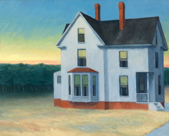 Edward Hopper (1882 1967) Cape Cod Sunset 1934 Oil on canvas, 74x 92,1 cm Whitney Museum of American Art, New York; Josephine N. Hopper Bequest © Heirs of Josephine N. Hopper, Licensed by Whitney Museum of American Art