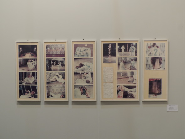Gina PANE 1939-1990 Action II Caso no 2 sul ring [Action The Case n.2 on the ring], 1976