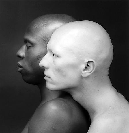 R. Mapplethorpe, Ken Moody and Robert Sherman, 1984.