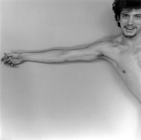 R.Mapplethorpe,Self Portrait, 1975.