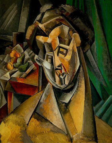 Picasso Woman with Pears