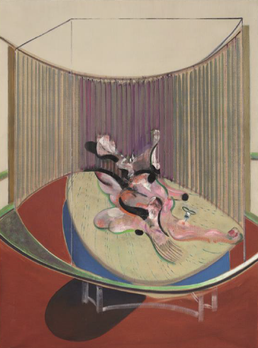 Francis Bacon, Version No. 2 of Lying Figure with Hypodermic Syringe (1968, Estimate on Request): Defining British Art Evening Auction