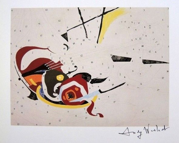 Do it your self - Violin , Andy Warhol 1962