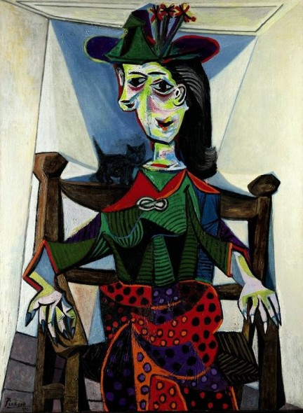 PABLO PICASSO Dora Maar au chat (1941) Sotheby's Top price