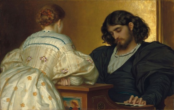 Frederic, Lord Leighton, P.R.A. (1830-1896), Golden Hours, 1864. Oil on canvas. 31 1/2 x 49 in. (80 x 124.5 cm.) Estimate: £3,000,000-5,000,000. This work is offered in Defining British Art: Evening Sale at Christie's London on 30 June