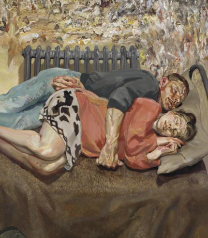 Lucian Freud Ib and Her Husband, 1992,(Estimate on Request: in the region of £18 million)